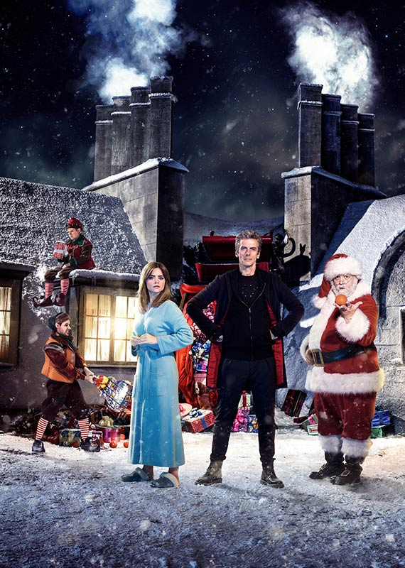 2014 Christmas special episode promo art portrait