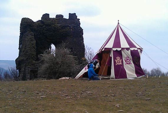 50th-filming-tent
