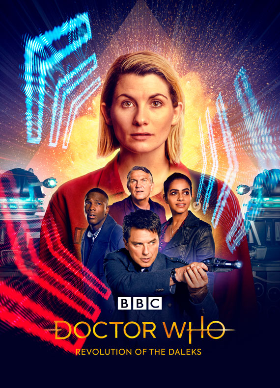 """Captain Jack Returns in """"Revolution of the Daleks"""", First Look & Poster    Doctor Who TV"""