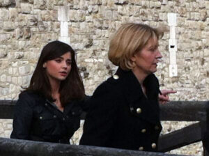 Jemma-Redgrave-Kate-Stewart-clara-jenna-50th-filming-day-7