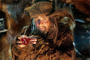 The 7th Doctor aka Sylvester McCoy as Radagast The Brown in The Hobbit