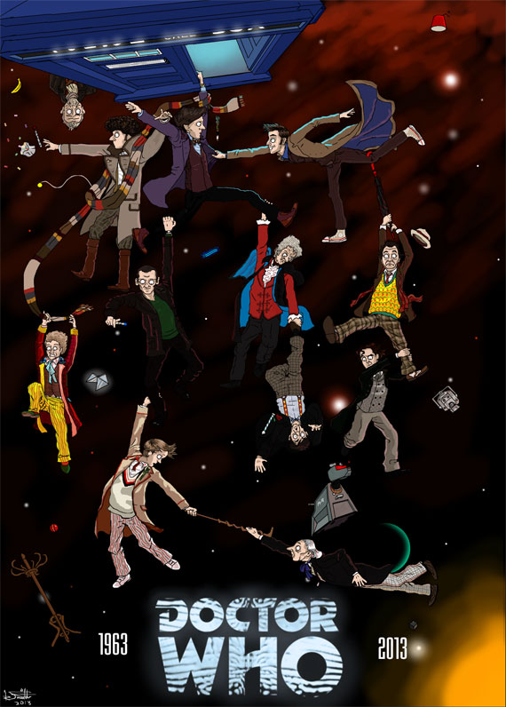 art-50-years-of-doctor-who