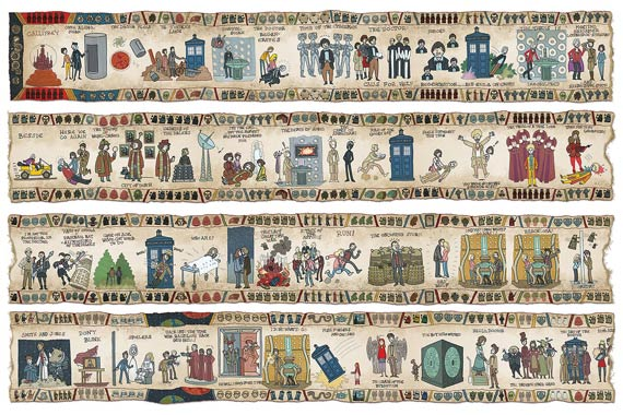 art--Doctor-Who-Bayeaux-Tapestry