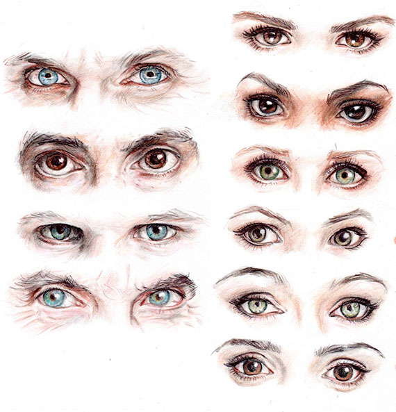 art-eyes-doctor-who