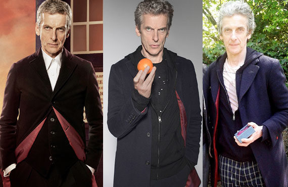Twelve S Rapidly Changing Look Doctor Who Tv