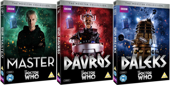 the monster collection dvds doctor who tv