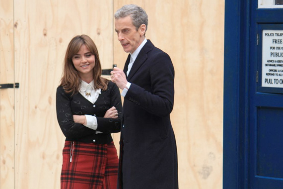 doctor-who-series-8-filming-capaldi-clara-queen-street-tardi