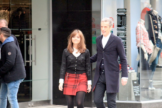 doctor-who-series-8-filming-capaldi-clara-queen-streets
