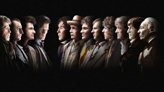 Doctor Who 50th Anniversary All Doctors