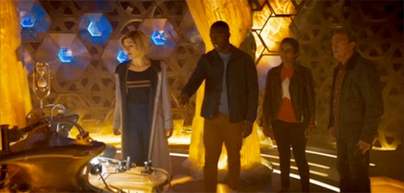 Jodie Whittaker's Series 11 TARDIS Interior Officially ...