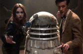 Series 7 Filming: 60s Dalek on Set