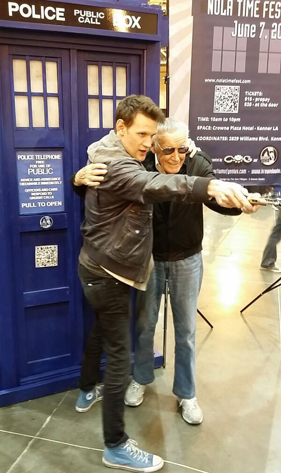 matt-smith-stan-lee-2014