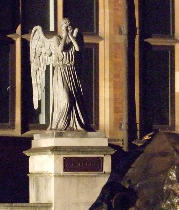 Series 7 Filming: The Weeping Angels | Doctor Who TV
