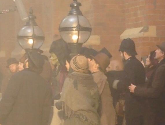 Doctor Who saison 8 Series-8-filming-paternoster-vastra