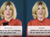 Watch: Jodie Whittaker React to Mean Tweets