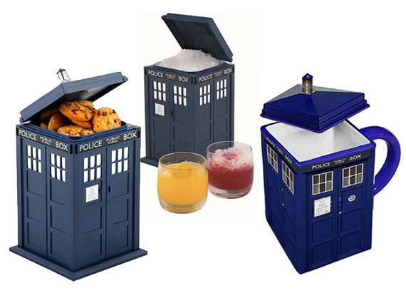 Doctor who weird and wonderful doctor who tv - Tardis cookie jar ...